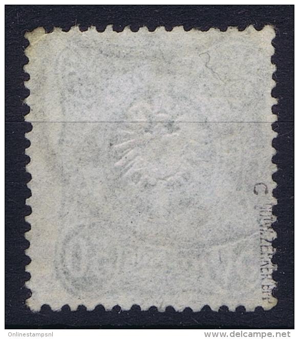 Dt Reich Mi Nr 44c Gestempelt/used Obl.  BPP Signiert /signed/ Signé - Deutschland