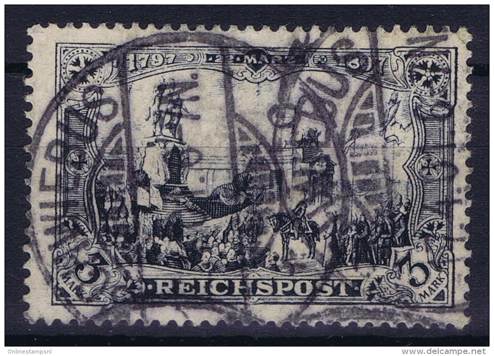 Dt Reich Mi Nr 65II  Gestempelt/used Obl. - Usati