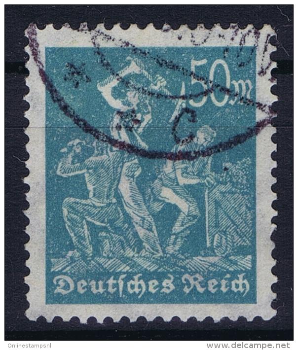 Dt Reich Mi Nr 245  Gestempelt/used Obl. - Gebraucht