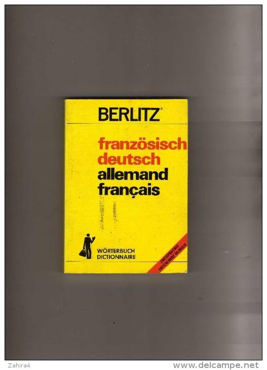 Berlitz - Französisch Deutch - Allemand Français - Zxeisprachig  Entièrement Bilingue - Dictionnaires