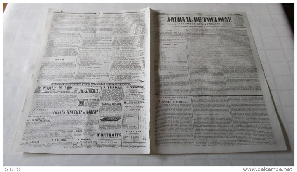 Daguerre daguerreotype portraits au daguerreotype publicite dans le jou - Le journal de toulouse ...