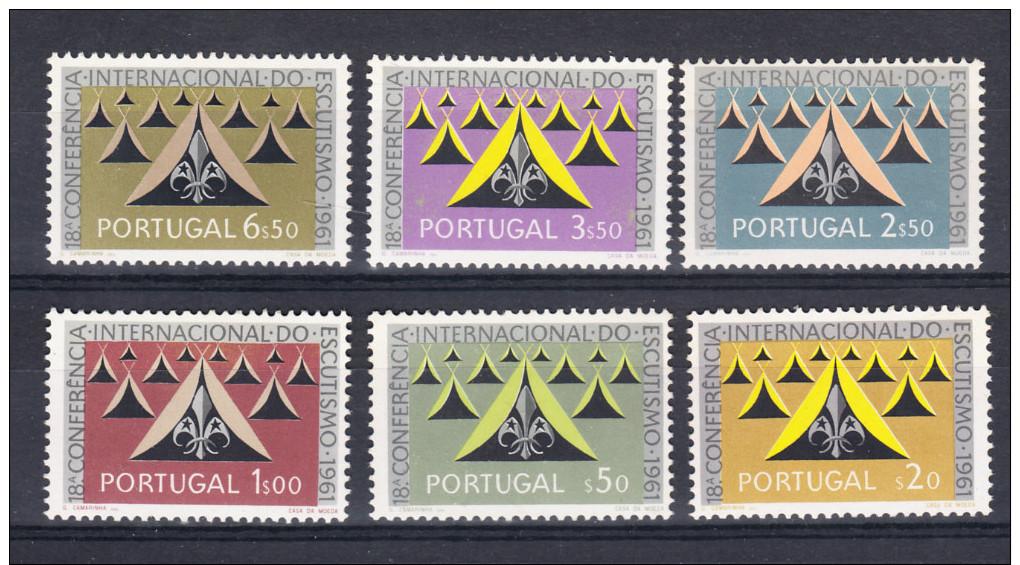 PORTUGAL 1962. 18ª CONFERÊNCIA INTERNACIONAL ESCUTISMO.AFINSA Nº 888/893. NUEVO SIN CHARNELA.SES095 - 1910-... República