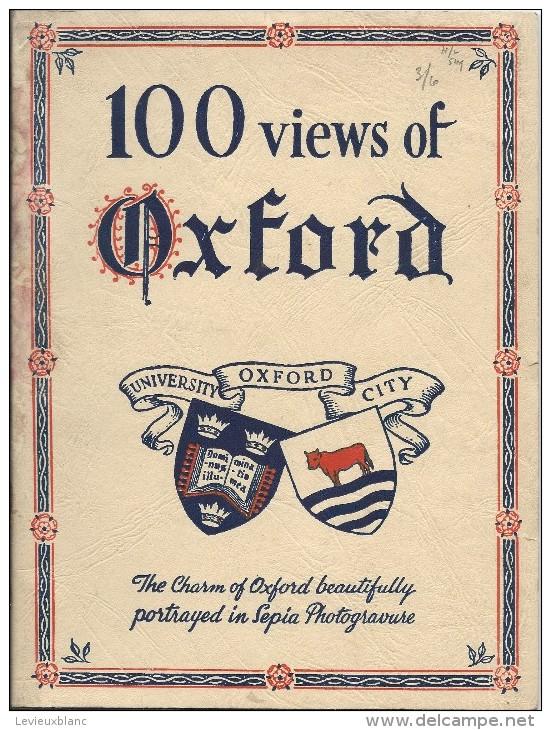 100 Views Of OXFORD/University Oxford City/Sépia Photogravure/Vers 1920-1940  LIV62 - Architecture