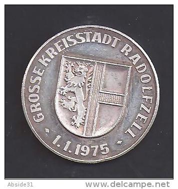 Allemagne - RADOLFZELL Am Bodensee - Médaille En Argent - 1975 - Allemagne