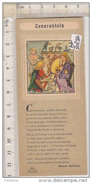 PO3029D# SEGNALIBRO - FIABA - CENERENTOLA - Fabbrica Inchiostri-Matite Ditta Augusto FIM-TORINO - Segnalibri