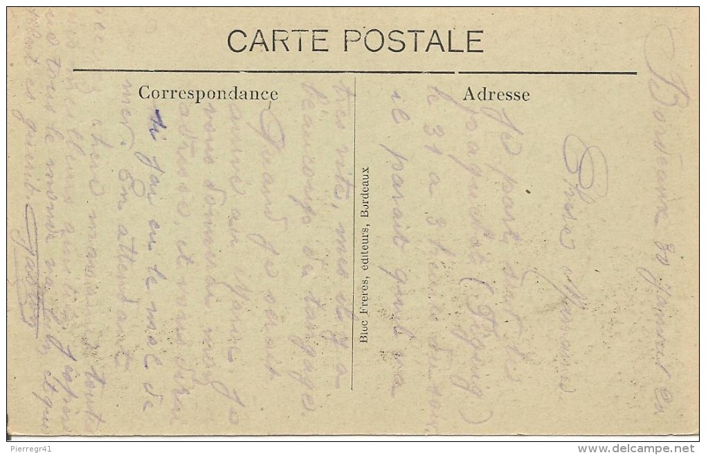 CPA- 1920-PAQUEBOT-Cie GENERALE TRANSATLANTIQUE-FIGUIG A QUAI-BE-RARE - Paquebots
