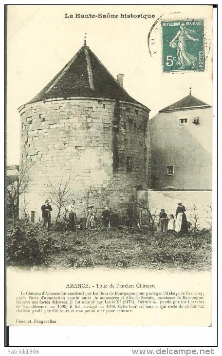 CPA AMANCE - Tour De L'ancien Château 12143 - Altri Comuni