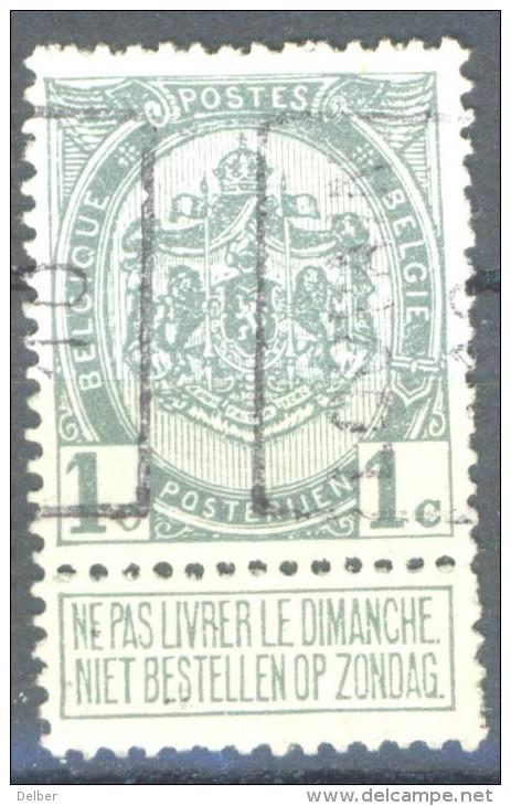 _5B-548: N° 1460  A : LOUVAIN 10 - Roller Precancels 1910-19