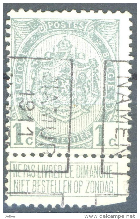 _5B-547: N° 1642  B : NAMUR 1911 NAMEN - Roller Precancels 1910-19
