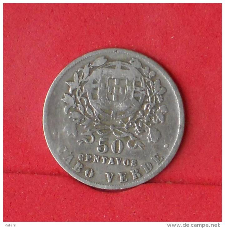 CAPE VERDE  50  CENTAVOS  1930   KM# 4  -    (Nº12668) - Cap Vert