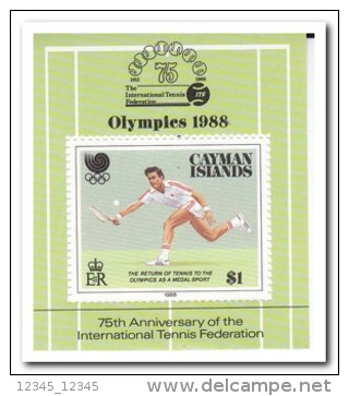 Kaaiman Eilanden 1988, Postfris MNH, Olympic Games - Kaaiman Eilanden
