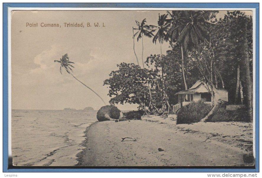 Amérique  - ANTILLES -- Trinidad --  Point Cumana - Trinidad