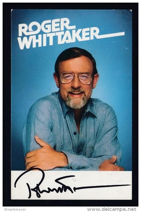 AK/    Autogramm Roger Whittaker - Autogramme