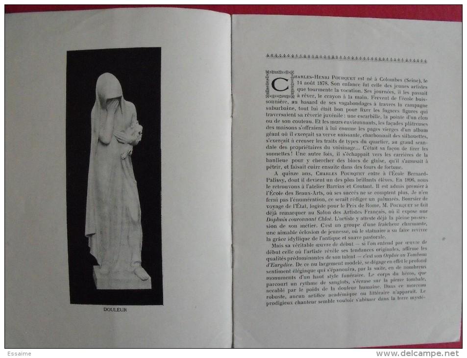 L'oeuvre De Charles-Henri Pourquet, Statuaire. Par Maurice Le Blond. 1921 - Art