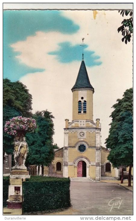 91 - Montgeron - L'église. - Montgeron