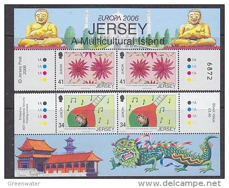 Europa Cept 2006 Jersey 2v (pair) ** Mnh (25466A) - 2006