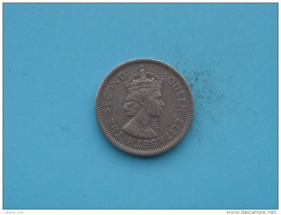 1960 KN - 1 Dollar - KM 31.1 ( Uncleaned Coin / For Grade, Please See Photo ) !! - Hong Kong
