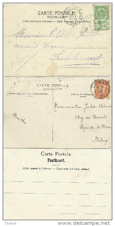 Soignies -L'Ancien Cimetière - 3 Cartes ( Voir Verso ) - Soignies