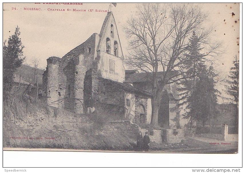 24880 Moissac - Chapelle Saint Martin -24 Trantoui Labouche - - Moissac