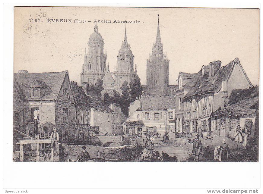 24899 Evreux Ancien Abreuvoir -ed 1182 Loncle - Evreux