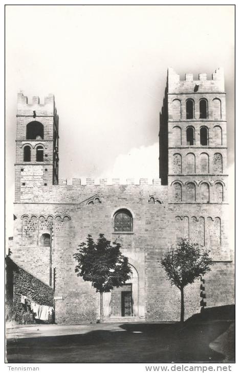 ELNE Facade De La Cathedrale - Elne