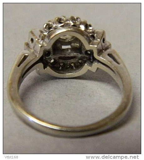 Certified Lady's 14K Gold And Diamond Ring. 0.65 Carat. Total - Rings