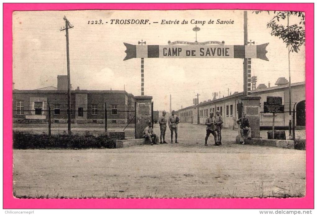 Troisdorf - Entrée Du Camp De Savoie - Militaires - Caserne - 312e Régiment D´Artillerie Légère Portée - Troisdorf
