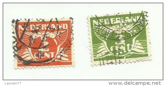 Pays-Bas N°134(B) , (136(A) Offert) Cote 2.75 Euros - Oblitérés