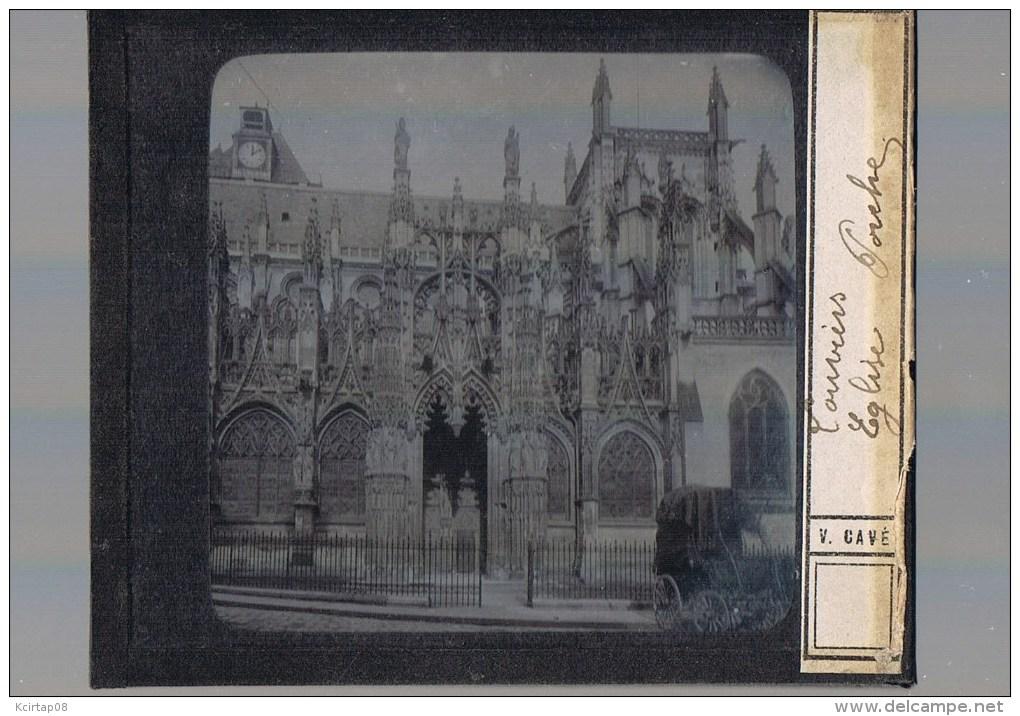LOUVIERS . Eglise Notre Dame . - Glasplaten