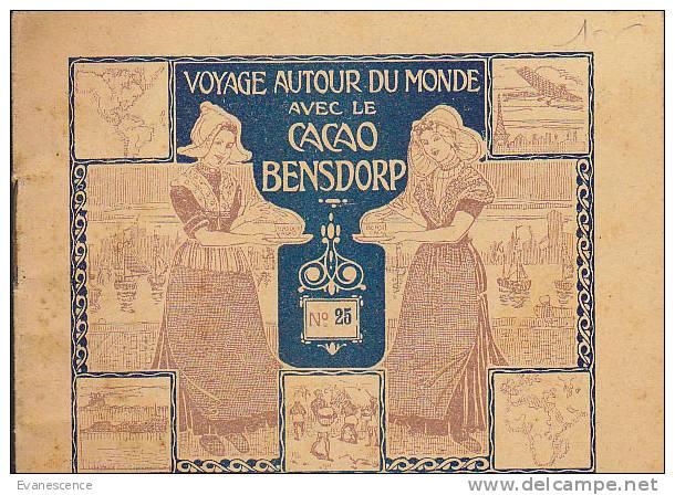 VOYAGE AUTOUR DU MONDE AVEC CACAO BENSDORP   ///  REF18250 - Advertising