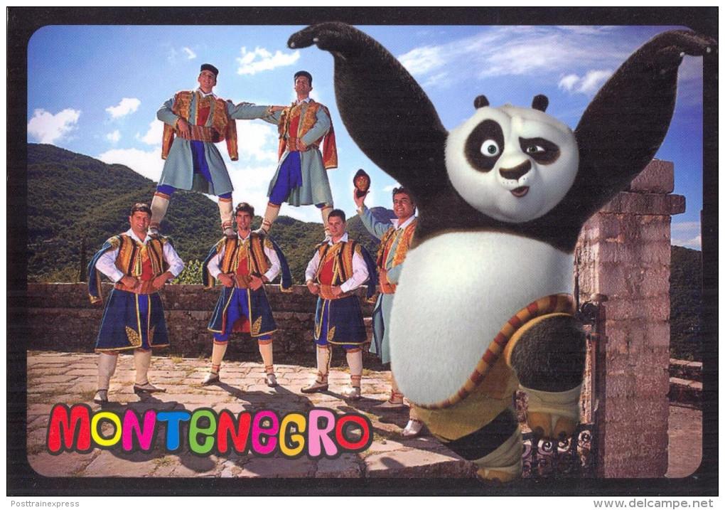 Montenegro. Panda In Montenegro. - Europe