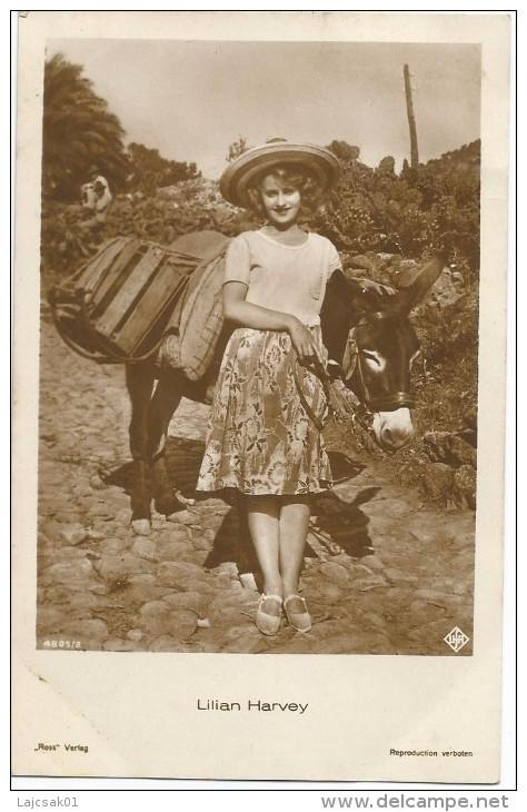 Lilian Harvey 1930. Donkey Ane - Attori