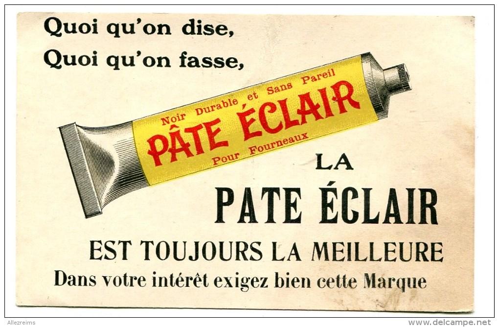 CPA   Publicité :   La Pâte éclair    VOIR   DESCRIPTIF   §§§ - Advertising