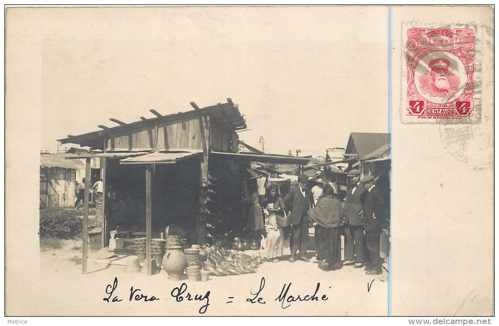 LA VERA CRUZ - Le Marché, Carte Photo. - Mexique
