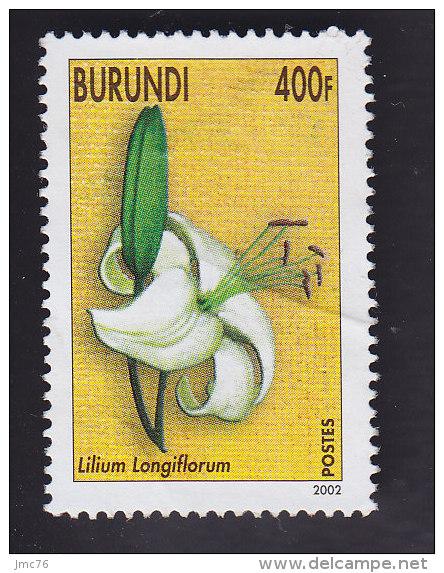 Burundi: Fleurs. Lilium Longiflorum. YT 1077 - 2000-09..: Oblitérés