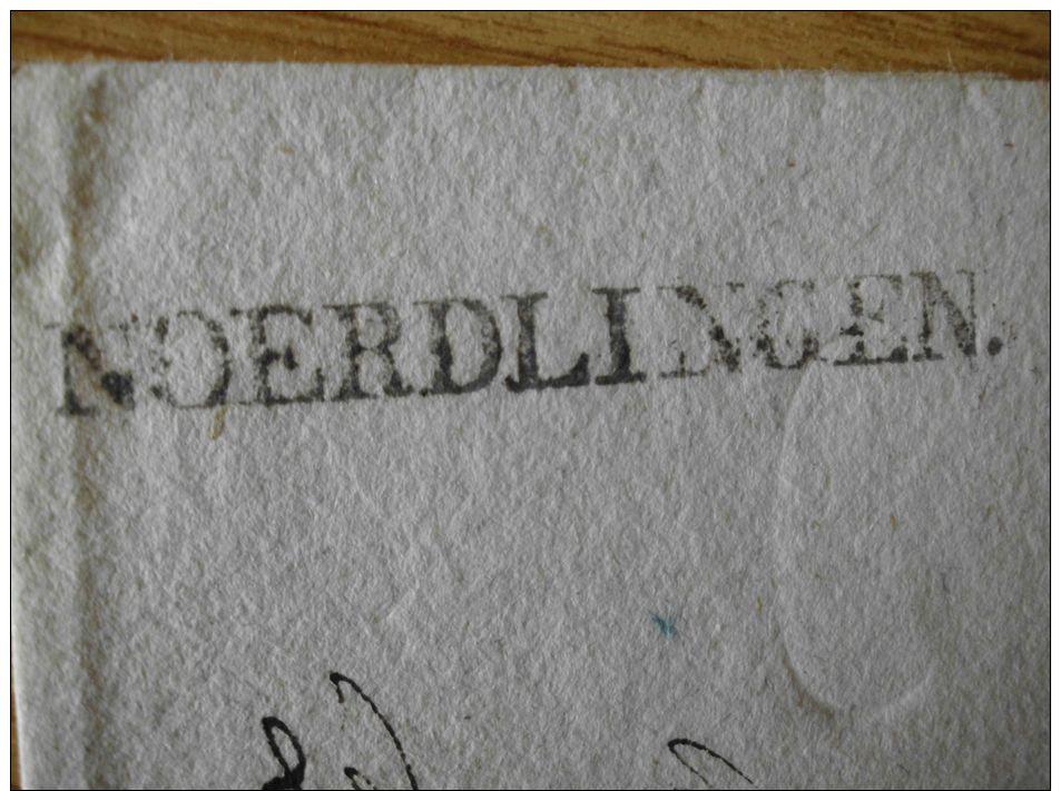 VORPHILA, BELEG Mit EINZEILER Von NÖRDLINGEN - Germania