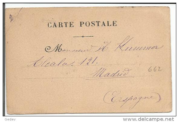 Douhin, Femme En Déshabillé à Cheval (662) Usure Des Angles, Pli D´angle - Illustrateurs & Photographes