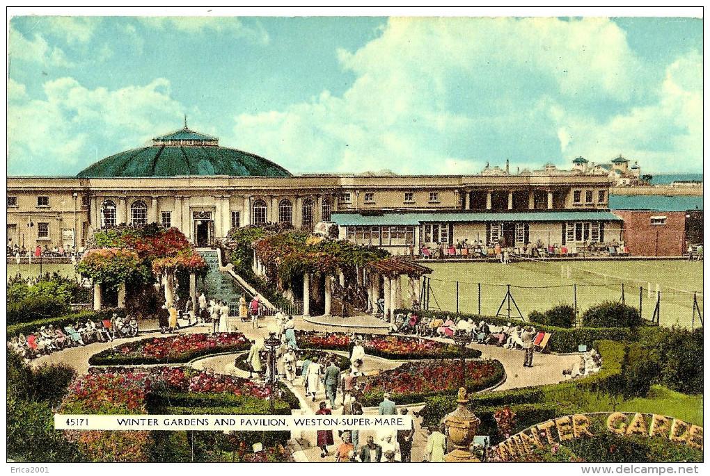 Weston-Super-Mare. Winter Gardens And Pavilion. - Weston-Super-Mare