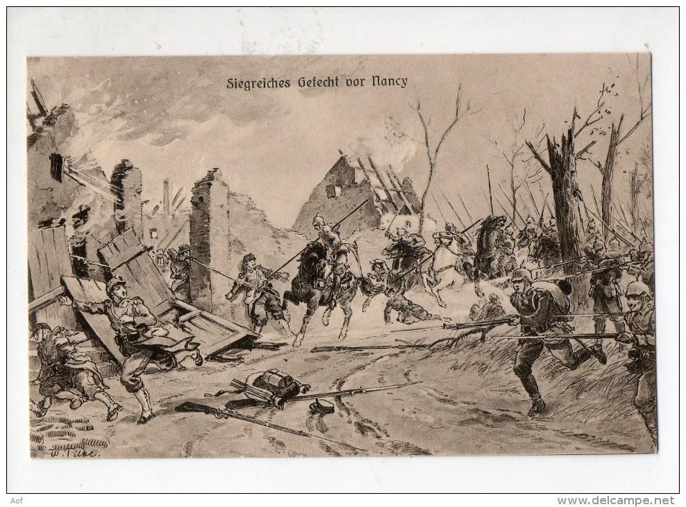 54-2295 Combat Autour De NANCY - France