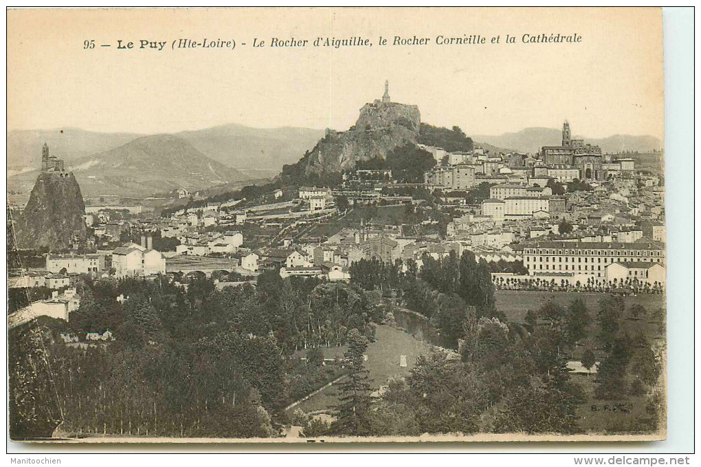 DEP 43 LE PUY EN VELAY VUE GENERALE - Le Puy En Velay