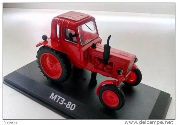 Tractor. MTZ-80  Hachette 1:43 Die Cast. Trattore.. - Cars & 4-wheels