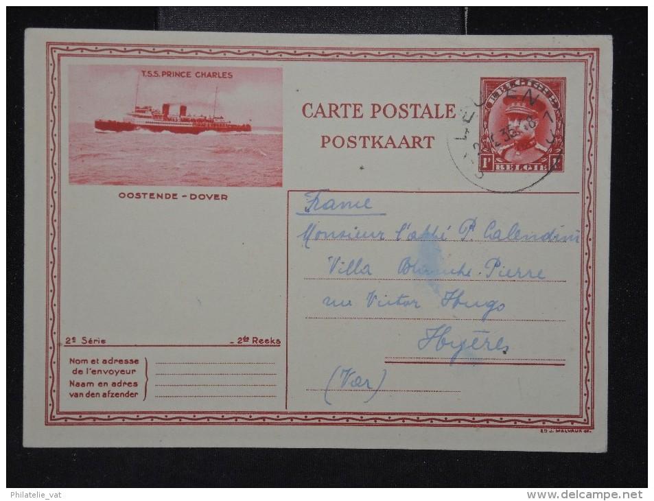 BELGIQUE - Entier Postal De Louvain Pour La France En 1935 - A Voir - Lot P11226 - Stamped Stationery