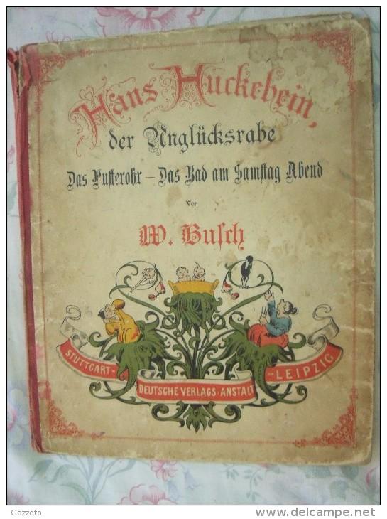 HANS HUCKEBEIN-DER ANGLUCKSRABE - Livres Pour Enfants