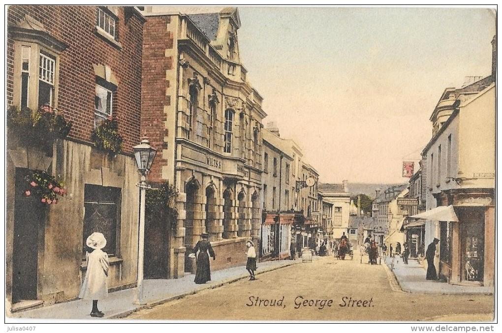 STROUD (Angleterre) George Street Animation - Unclassified