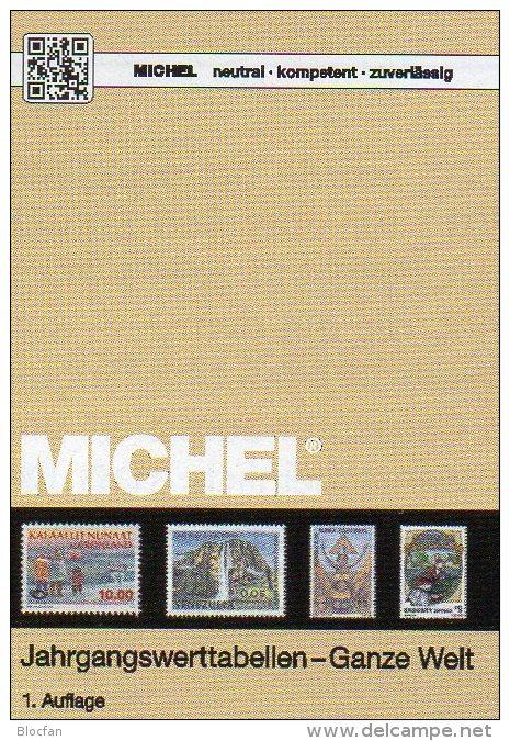 MlCHEL Jahrgangs-Werttabellen Katalog 2015 New 20€ Wert An Briefmarken Der Welt 300 Länder Stamps Catalogue Of The World - Libros, Revistas, Cómics