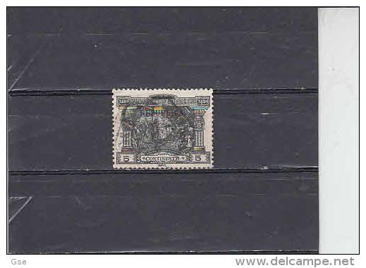 PORTOGALLO  1911 - Unificato  183 - V. De Gama  (soprastampato) - 1910 : D.Manuel II