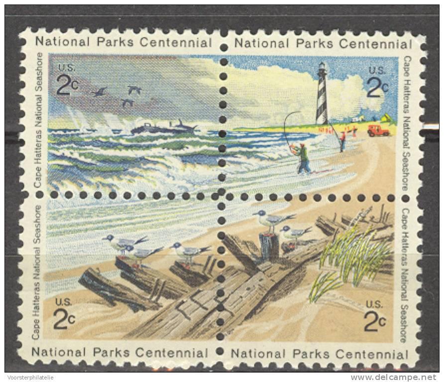 USA UNITED STATES 1972 MCHL 1062-65 MNH ** POSTFRIS NEUF - Unused Stamps