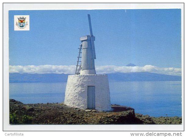 SÃO JORGE, Açores - Moinho De Vento, Windmill  (2 Scans) - Açores