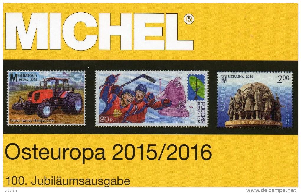 Stamp MICHEL East-Europe Part 7 Catalogue 2015/2016 New 66€ Osteuropa Belarus Polska Russia Sowjetunion Ukraine Moldawia - Phonecards