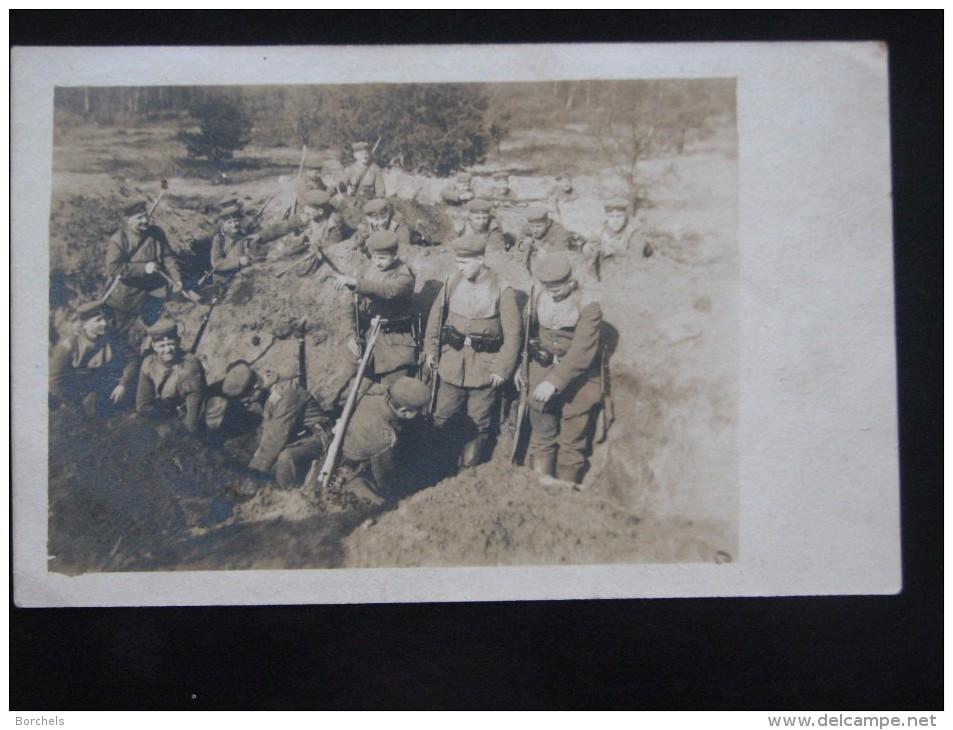AK533 - Soldaten Heben Einen Graben Aus - 1918 Bei Coesfeld - Personen